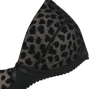Little Women BETTE Animal Flock Bra - Petite Lingerie From The Specialists