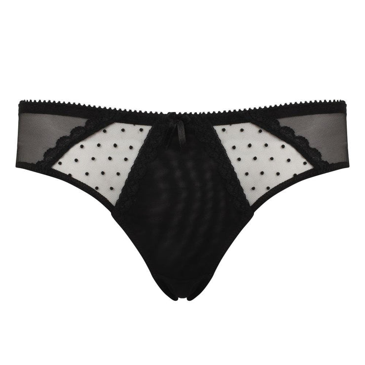 Little Women Layla Brief In Black - Petite Lingerie For Small Frames