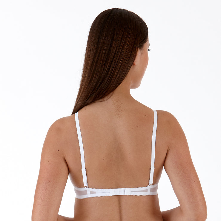 Little Women Natalie Bra Back - In White