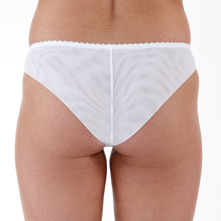 Little Women Natalie Brief - back - White