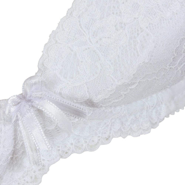 Little Women Perfectly You Bra White Detail - Small Bra