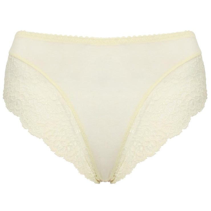 Serenity Brief Champagne Cutout