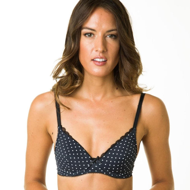 Amalie Bra - Non-Wired Bra With Medium Padding - Petite Lingerie