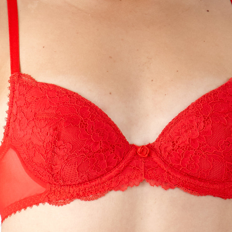 Little Women Isabella Underwired Bra - Close Up Detail From AAA Cup Size Bra
