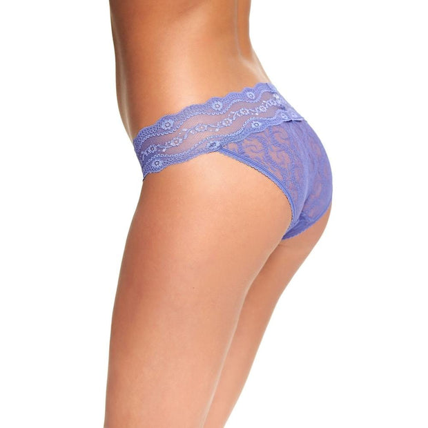 B.Tempt'd Lace Kiss Bikini Brief - Marlin