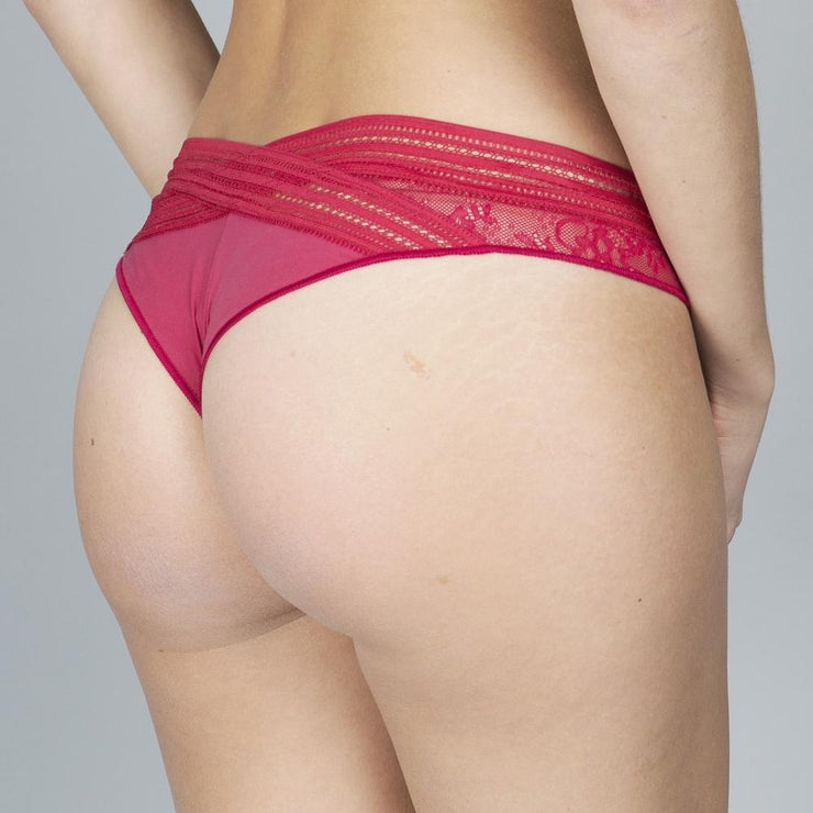 Miss Lejaby Tanga Brief - Redcurrant