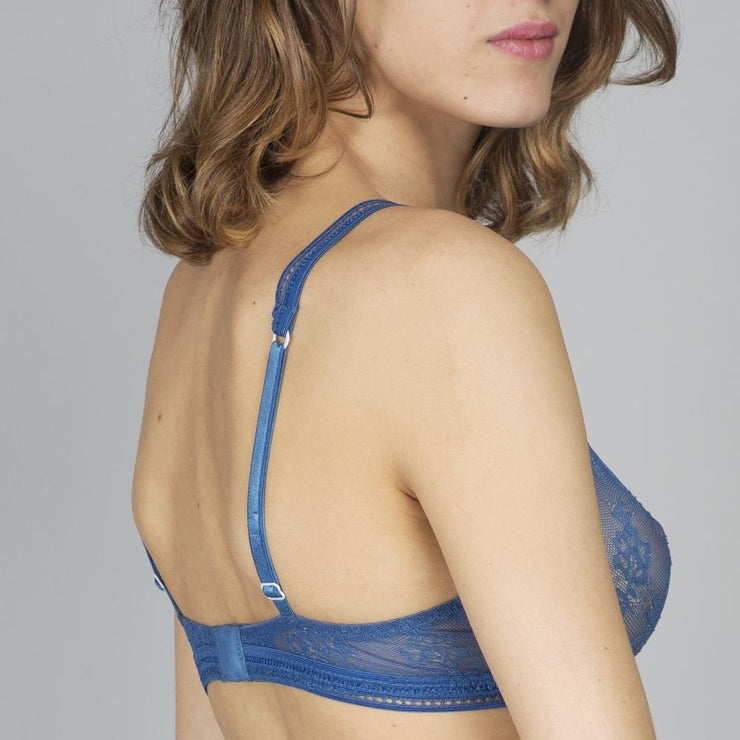 Miss Lejaby Triangle Bra Back