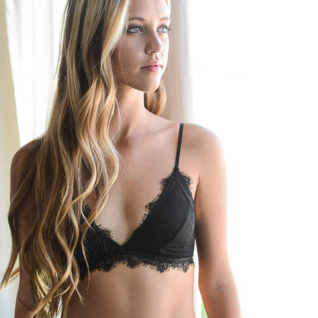 Amour Bralette Black