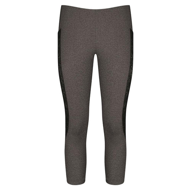 Sloggi mOve FLY Capri Leggings Grey & Black