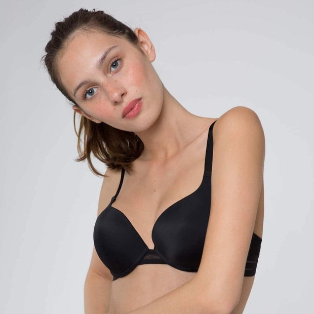 Nufit Push Up Bra Black