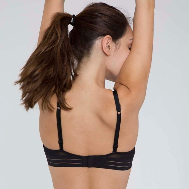Nufit Push Up Bra Black Back