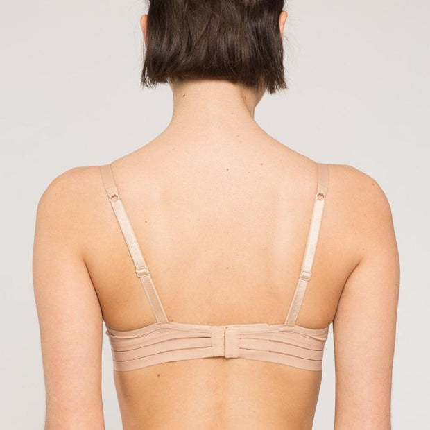 Nufit Push Up Bra Nude Back