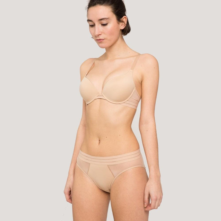 Maison Lejaby Nufit Slip Brief Nude Model Set