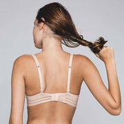 Nufit Triangle Bra Nude Back