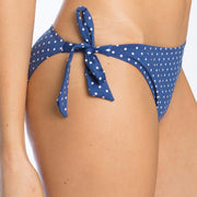 Polka Dot Bikini Tie Side Brief detail