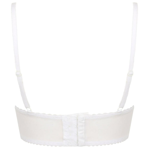 Little Women Roxy Bra White Back