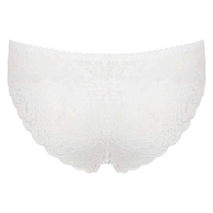 Little Women Roxy Brief In White - Back