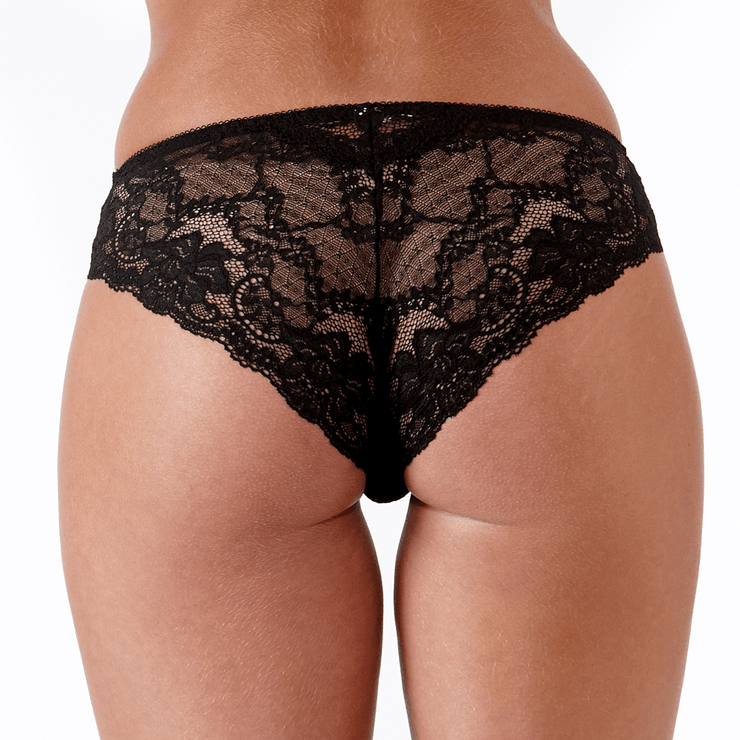 Roxy Brief Black Back - Beautiful Petite Lingerie From Little Women