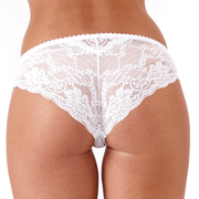 Roxy Brief White Back - Beautiful Petite Lingerie For The Small Frame