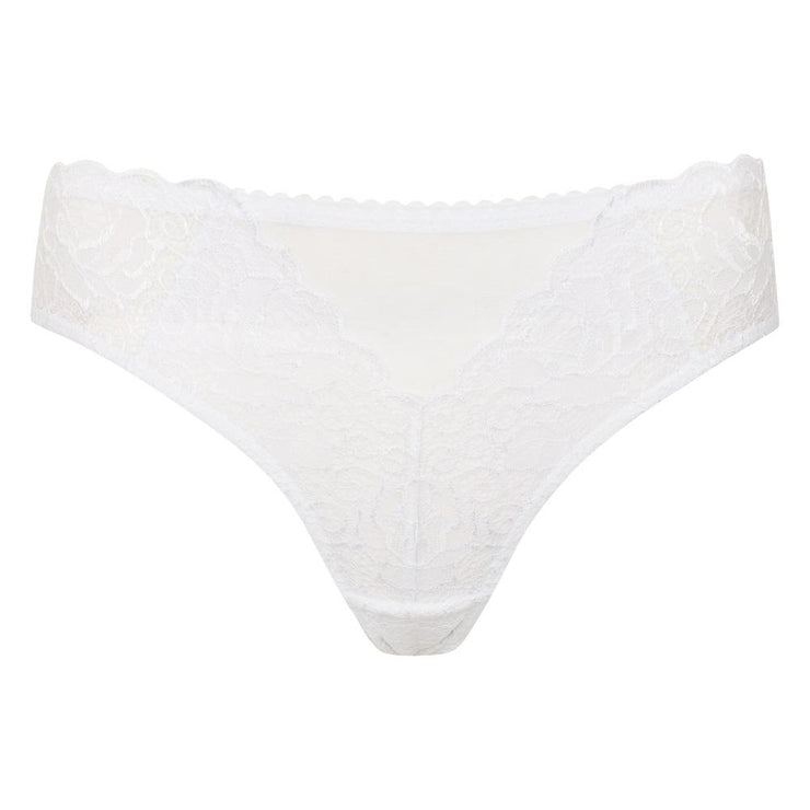 Little Women Roxy Brief In White