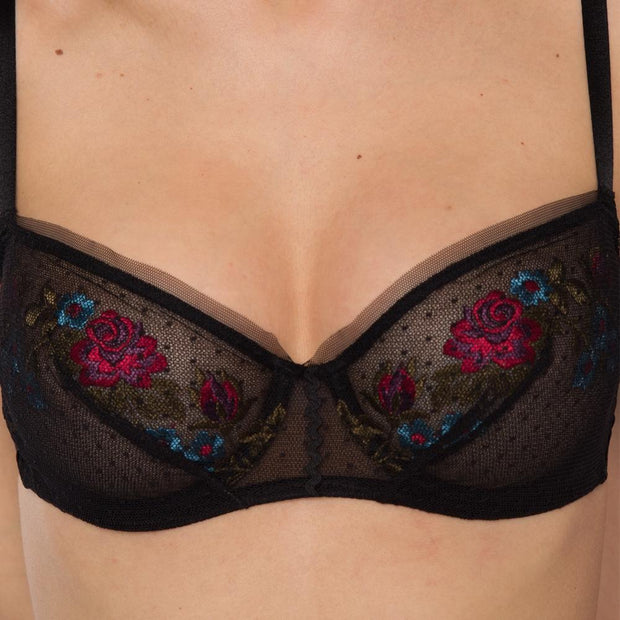 Secret Garden Bra Close Up