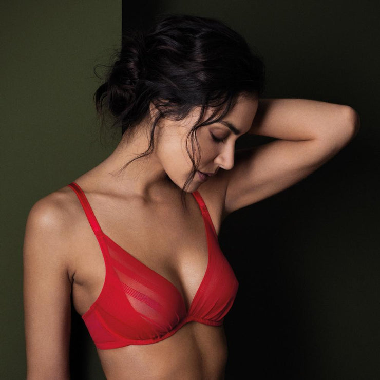 Wacoal Sexy Shaping Underwired Bra - Red