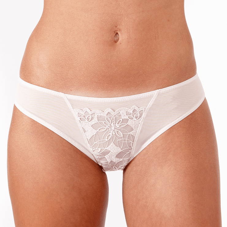 Little Women Shelley Brief - Peony Lace Brief Perfect For The Small Frame