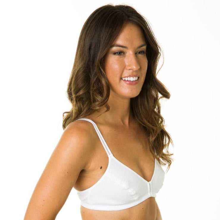 Silhouette La Chica LC8 Soft Cup Bra Side View - Ideal For Teens