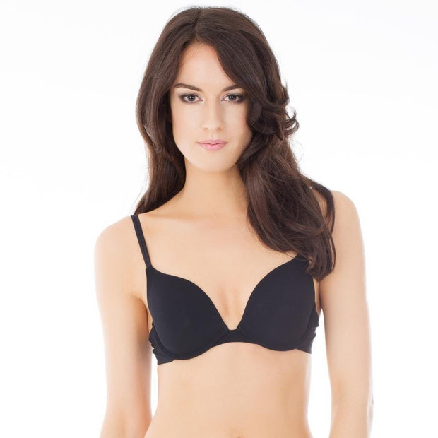 After Eden Single Boost Bra Black