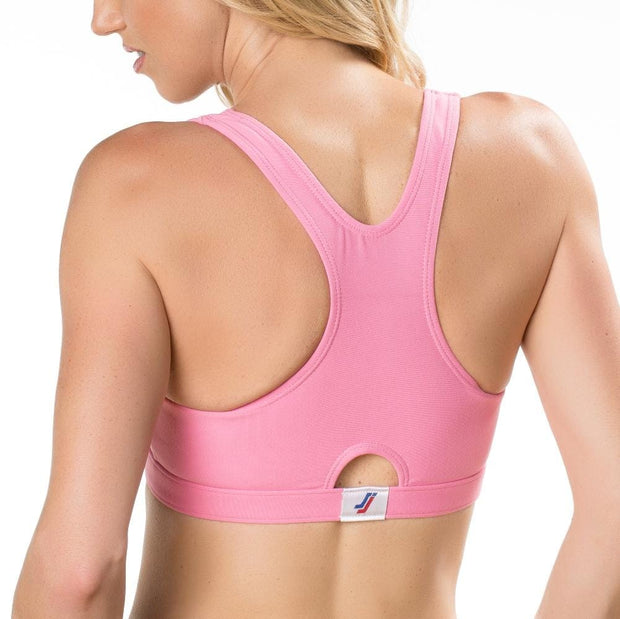 Sportjock Sports Bra - Pink - Back