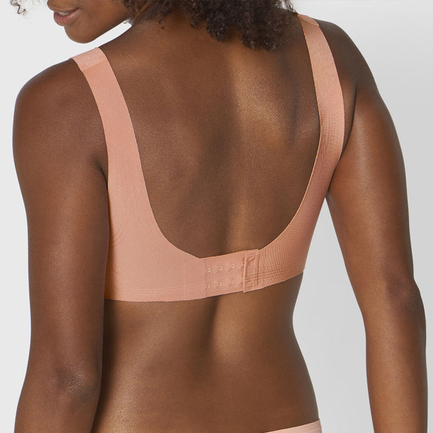 sloggi ZERO Feel N EX Non-wired Bra in coral