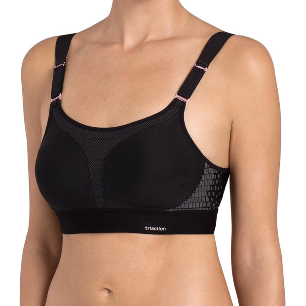 Triumph TriAction Extreme Lite N Sports Bra - Black