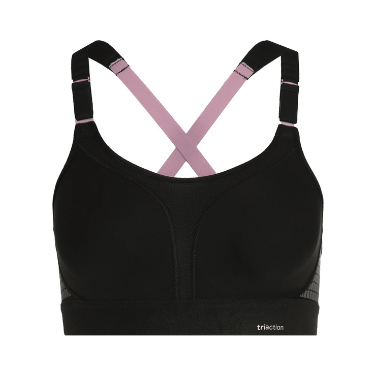 Triumph TriAction Extreme Lite N Sports Bra - Black Cutout