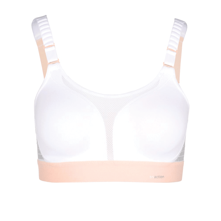 Triumph TriAction Extreme Lite N Sports Bra - White Cutout