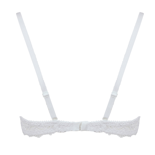 Very You Bra Cutout Back - Small White Bra