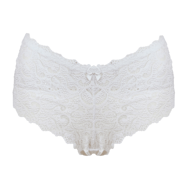 Very you lace short - white