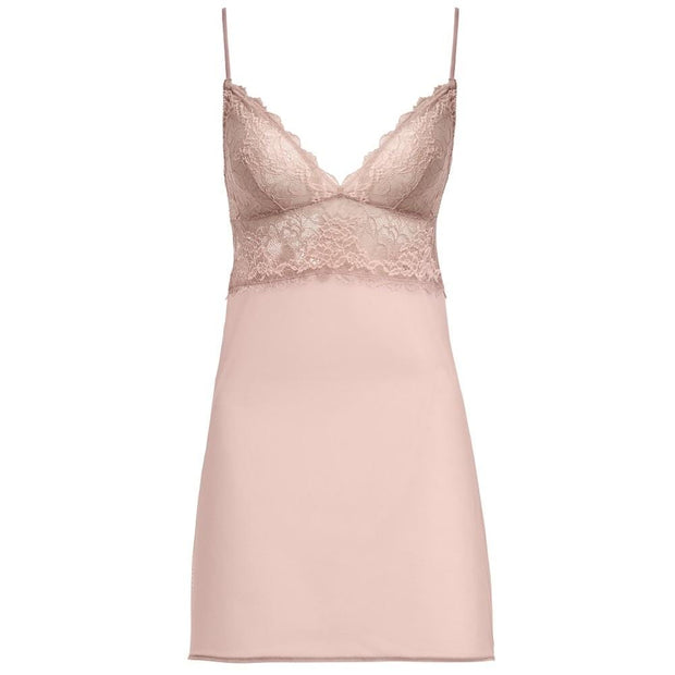 Wacoal Lace Perfection Chemise Rose Mist