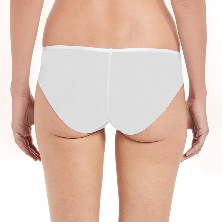 Lace Affair Brief White Back