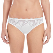 Lace Affair Brief White