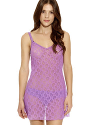 Lace Kiss Chemise - Dewberry
