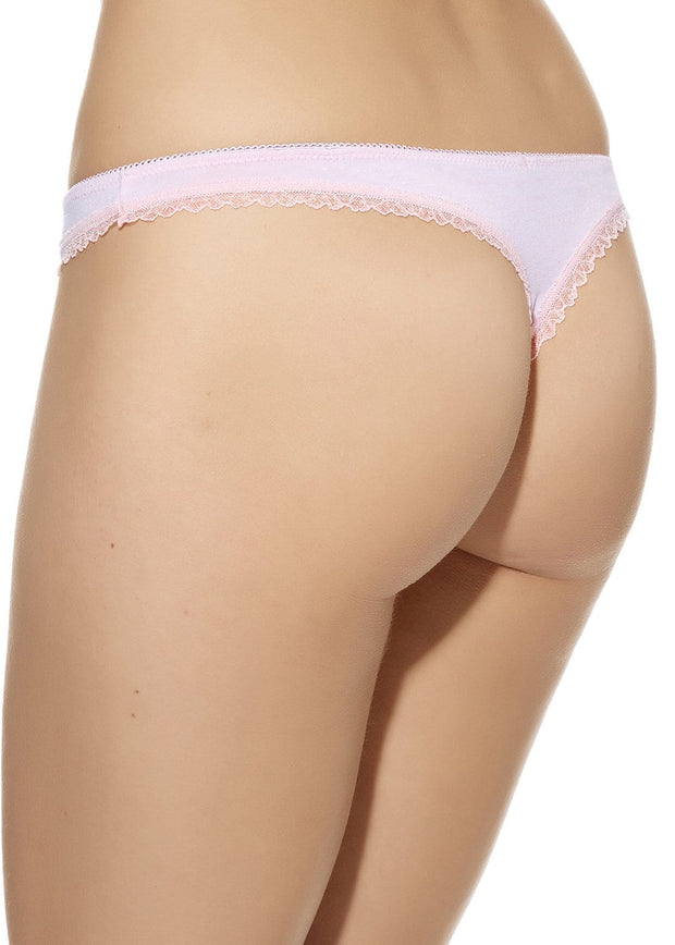 B.Natural Thong - Crystal Rose - 14