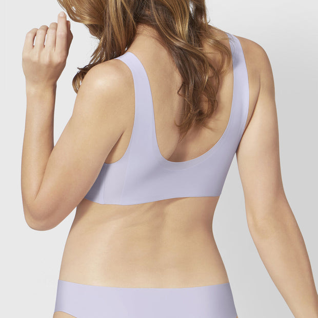 Sloggi Zero Feel Bralette EX - silver shadow-back