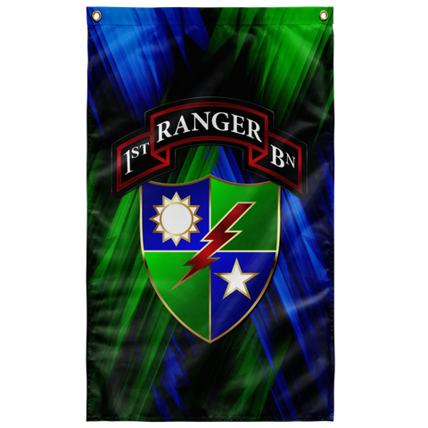 "1/75 Regimental Flag Elite Flags Wall Flag - 36""x60"""