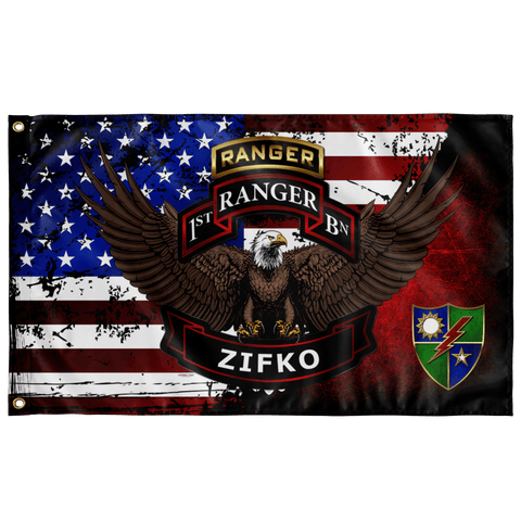 "1/75 (ZIFKO) Flag Elite Flags Wall Flag - 36""x60"""