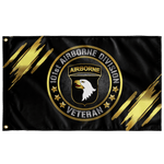 "101st Airborne Division Veteran Flag Elite Flags Wall Flag - 36""x60"""
