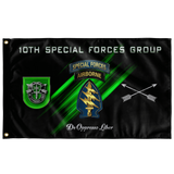 "10th Special Forces Group Flag Elite Flags Wall Flag - 36""x60"""