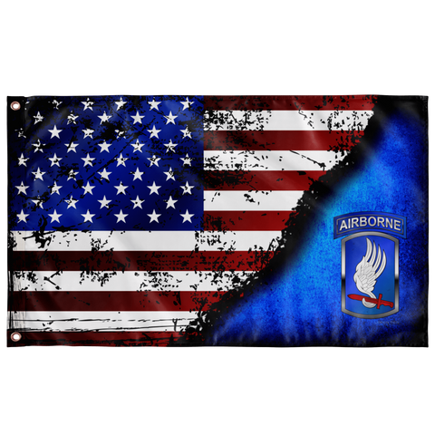 "173rd Airborne BCT Stars & Stripes Flag Elite Flags Wall Flag - 36""x60"""