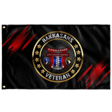 "187 Rakkasans Veteran Flag Elite Flags Wall Flag - 36""x60"""