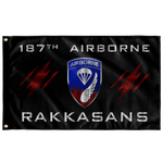 "187th Airborne Rakkasans Flag Elite Flags Wall Flag - 36""x60"""
