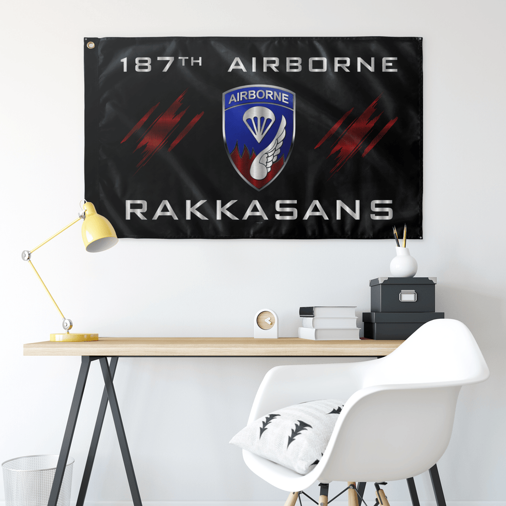 187th Airborne Rakkasans Flag